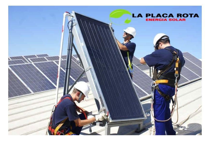 Reparacion y mantenimiento placas solares en Malaga