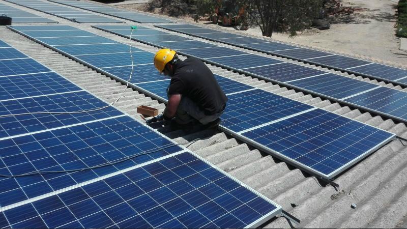 averias de placas solares